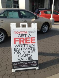 Toyota Equity Advisor